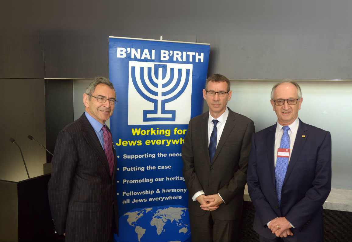 BB Alan and Mark Regev Plus Banner
