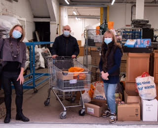 Before Pesach 2021 we held a Food  Collection for Mustard Tree, a  Manchester charity working to combat poverty and prevent homelessness