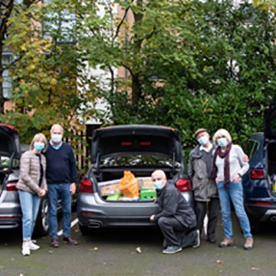 B'nai B'rith Cheshire fills 3 car boots with donated food and toiletries for Sukkot appeal