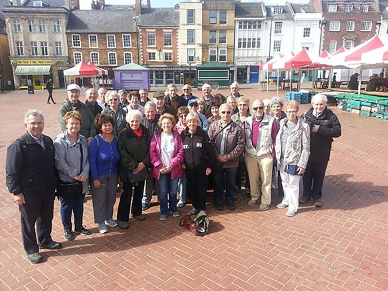 Bnai Brith Heritage Day - YYad BYad Members Northampton
